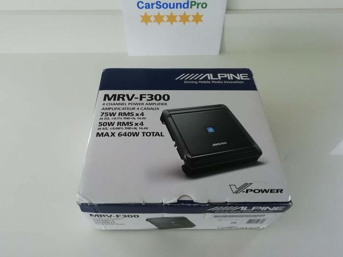 Alpine MRV-F300 Unboxing And Review