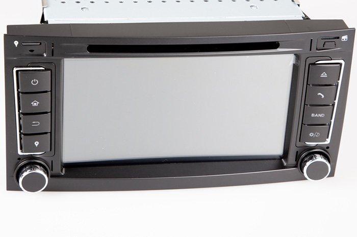 Car radio set navigation double DIN frame